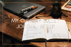 This Is How I Currently Set up My Bullet Journal  It's been months since my first blog post about my bullet journal and A LOT has changed! Today I will be sharing with you the main things I set up for a new month and the spreads I had to let go of because they just weren't working for me.  A few days ago Jorge and I went to the coffee shop we frequent to do some work but unfortunately the wi-fi was extremely slow! Instead of being frustrated about the situation I decided to bust out my…
