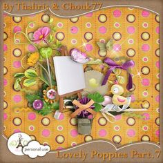 """Photo from album """"lovelypoppies"""" on Yandex. 2 Clipart, Diy And Crafts, Paper Crafts, Digital Scrapbooking, Digital Papers, Scrapbook Embellishments, Newsletter Templates, Kit, Printable Paper"""