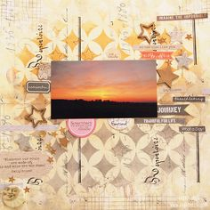 Layout by Tusia Lech for UmWowStudio DT with 7 Dots Studio products