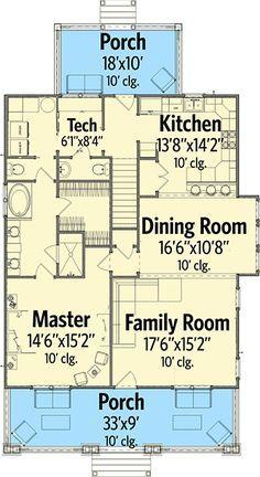 Plan 86240hh Trendsetting Craftsman House Plan Craftsman House Craftsman House Plan House Plans