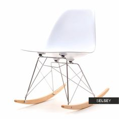 Krzesło bujane MPC ROC białe Sit Back And Relax, Rocking Chair, Chairs, Furniture, Design, Home Decor, Chair Swing, Rocking Chairs, Decoration Home