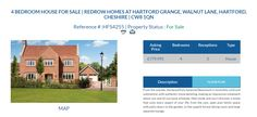 HFS4255 4 BEDROOM HOUSE FOR SALE Asking Price £779,995 Location REDROW HOMES AT HARTFORD GRANGE, WALNUT LANE, HARTFORD, CHESHIRE | CW8 1QN #OnlineEstateAgency #FreeOnlineEstateAgency  #OnlineHousesforsale #Sellingyourhouseonline  #FreePropertyValuationOnline #OnlineEstateAgent  #Ownersellers #SellingyourhouseonlineforFree #FreePropertyValuation #FreeOnlineEstateAgents