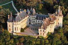 Zamki nad Loarą - Chateau de Chaumont