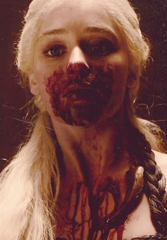 """Khaleesi- """"I will take what is mine with fire and blood."""""""