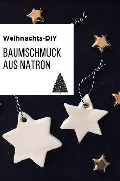- Tolle Weihnachtsdeko mit Natron gehört – Tolle DIY Weihnachtsanhänger aus nur drei Jahren, die es in jedem Haushalt gibt gibt. Diy Christmas Tags, Christmas Tree Ornaments, Beautiful Christmas Decorations, Holiday Decor, Navidad Diy, Cold Porcelain, Handicraft, Diy And Crafts, Mandala