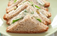 Coronation chicken and coriander salad sandwich recipe | GoodtoKnow