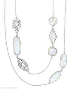 New catalog! There's no stopping your style! Moonstone, Sterling Silver. www.mysilpada.com/leah.keith