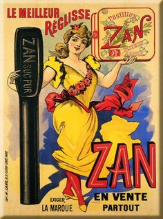 réglisse #publicité #bonbon #vintage