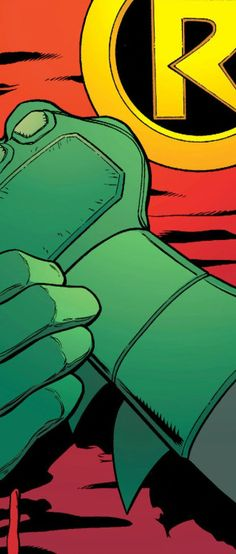 Suiting Up in Batman & Robin #040