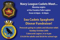 #Navy #Cadets #KawarthaLakes #FEnelonFalls #Coboconk # SpaghettiDinner #Fundraiser #CommunityConnections