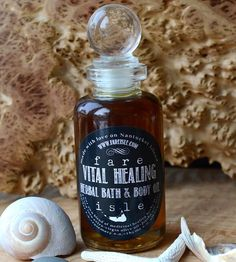Herbal Bath & Body Oil - Filled with comfrey, rosemary and thyme