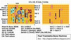 Guitar FX Layouts: Paul Trombetta Designs Bone Machine