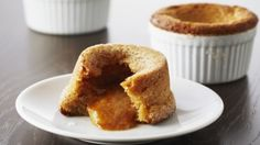 How to make the perfect Warm Peanut Butter Cookie Cakes by Anna Olson on Food Network UK.