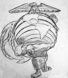 Someone needs to carry the weight #usmc #marines #unitedstatesmarinecorps