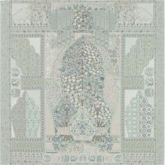 140 x 140 cm shawl Hermès | Tapis Persans