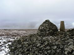 The summit of Cold Fell in the North Pennines.