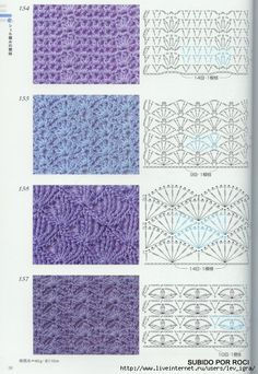 TRICO y CROCHET-madona-mía: Vestido Azul para niñas a crochet con esquema de puntos.(para expertas)