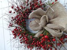 Acorn Wreath, Twig Wreath, Autumn Wreaths, Holiday Wreaths, Rustic Christmas, Red Christmas, Red Berry Wreath, Square Wreath, Decorations