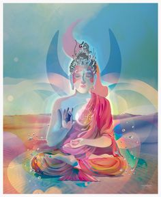 Gautama Buddha by Christian Haag, via Behance