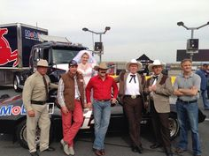 "Tony ""Smoke"" Stewart as The Bandit, Darrell Waltrip as Snowman, Jeff Hammond as Sheriff Buford T. Justice, Ricky Craven as Big Enos, Hermie Sadler as Little Enos, and Nicole Briscoe as Carrie."