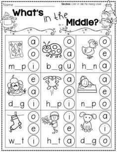 FREEBIE! Over a dozen winter-themed printable pages for Kindergarten. Includes pages for math, reading, and writing! #TPT by Noha el Batrik