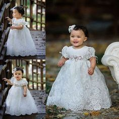 Baptism Dress Girl 6 Months Baby & Toddler Clothing 2 Years Highly Polished Christening