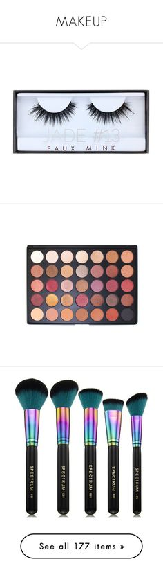 """""""MAKEUP"""" by lustmom ❤ liked on Polyvore featuring beauty products, makeup, eye makeup, false eyelashes, beauty, accessories, lashes, eyeshadow, filler and palette eyeshadow"""