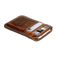 Portel Retromodern Aged leather pocket chriscavs