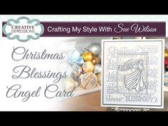 Christmas Blessings Angel Card