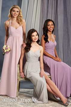 With hundreds of flattering styles available in 62 colors, your bridal party options are endless.