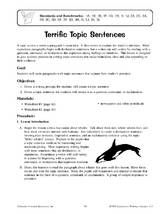 editing worksheets 3rd grade | Second Grade Sentence Worksheets ...