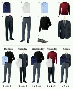 Tips: Work Week Outfit Ideas