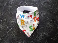 $5.00 Baby Toddler Child Bandana Dribble Bib Handmade Dr. Suess MORE COLORS