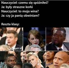 Very Funny Memes, Haha Funny, Polish Memes, Dark Sense Of Humor, Weekend Humor, Funny Mems, School Memes, Bad Mood, Sentences