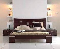 Resultado de imagen para camas modernas matrimoniales Wood Bed Design, Bed Frame Design, Bedroom Bed Design, Modern Bedroom, Bedroom Decor, Dining Room Furniture Design, Bedroom Furniture Sets, Bed Furniture, Bedroom Sets