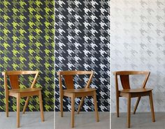 Moody Monday: Contemporary Handmade Wallpaper