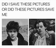 They saved me