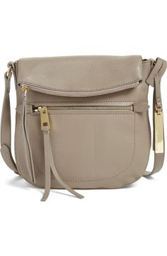 574d7ea692be Crushing on this gorgeous Vince Camuto crossbody bag with gold hardware. A  variety of pockets
