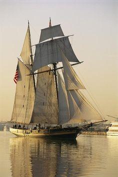 The Pride Of Baltimore Clipper Ship