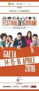 Gaeta. Dal 14 al 16 aprile, il Festival dei Giovani.