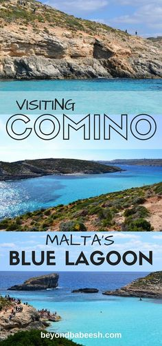 Everything you need to know about how to get to the famous Blue Lagoon on the island of Comino in Malta on public transportation and tips for your trip! #malta #comino #bluelagoon #mediterranean  #beach #backpacking