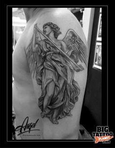 Angel Totochev - Black and Grey Tattoo