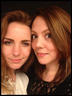 two pretty girls with fresh septumpiercings #septum #piercing #girls #piercingjewelry #onedge #maikaonedge
