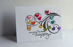 You Make My Heart Happy by lisaadd - Cards and Paper Crafts at Splitcoaststampers