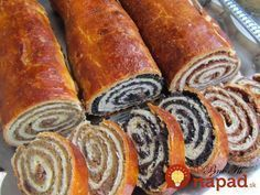 Slovakian Food, Bread Recipes, Cooking Recipes, Czech Recipes, Croatian Recipes, Tasty, Yummy Food, Lunch Snacks, Desert Recipes