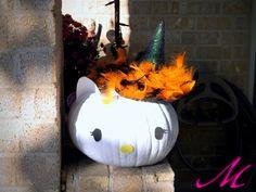 Hello Kitty & Black Cat Pumpkins