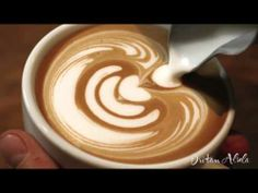 Latte Art Style by Barista Dritan Alsela - YouTube ~ I never cease to be amazed!   http://www.youtube.com/watch?v=25N1XcwL2hw