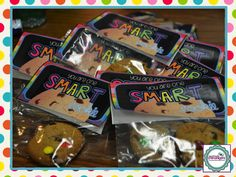 Grade Shenanigans: A Sweet Project for Standardized Testing! School Treats, School Gifts, Student Gifts, School Stuff, Student Treats, School Days, Matter For Kids, Elementary Shenanigans, Classroom Treats