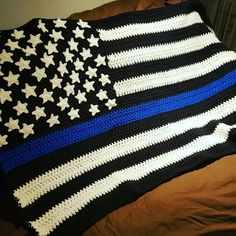 Hey, I found this really awesome Etsy listing at https://www.etsy.com/uk/listing/487495700/thin-line-flag-blanket-thin-blue-line