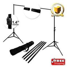 LimoStudio Premium Pro Studio 8.5' X 10' Photo Video Backdrop Support Stand Kit | Cameras & Photo, Lighting & Studio, Background Material | eBay!